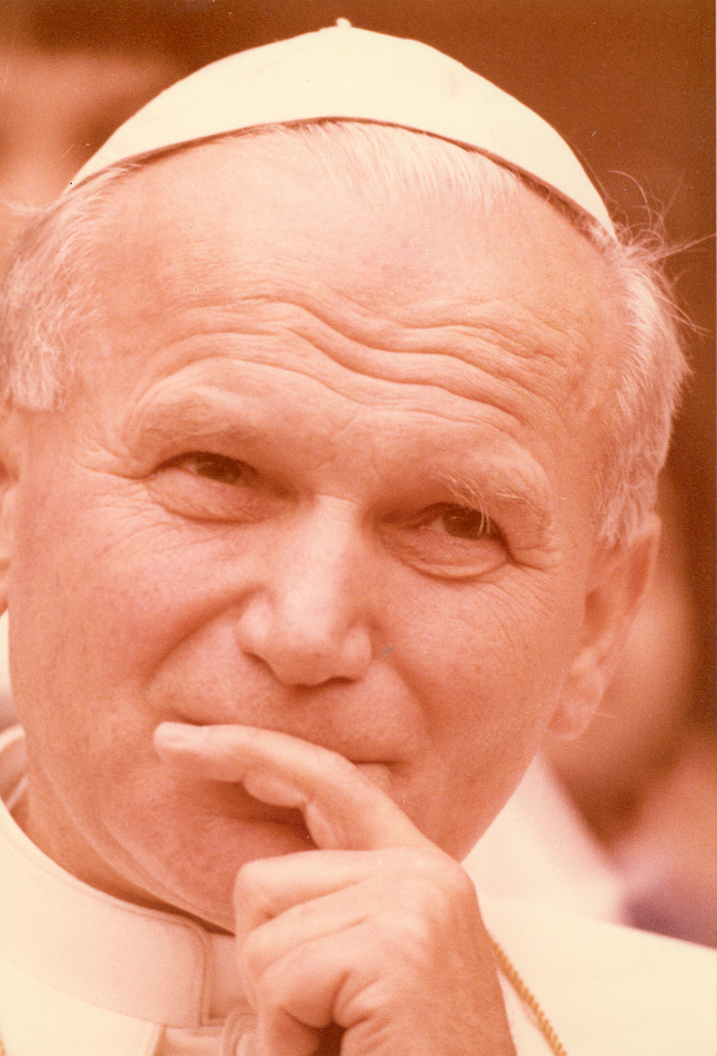 John Paul II and Jerome Lejeune